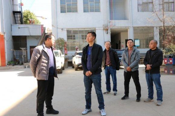 宣威市副市长冯全明到文兴乡调研卫