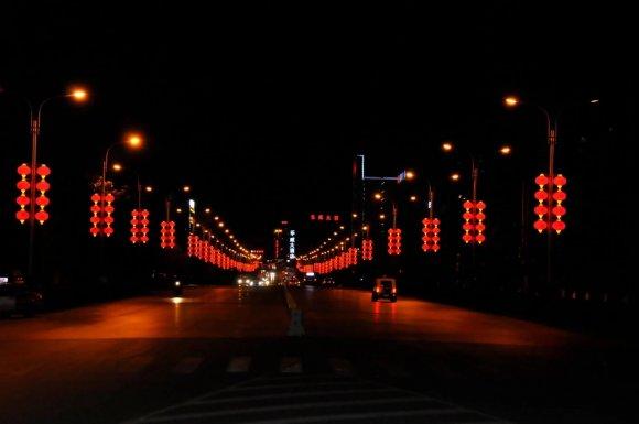 宣威2万余个红灯笼迎新春