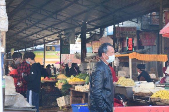 宣威板桥有一名确诊病例?菜市场将关闭?
