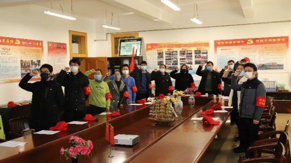 宣威市第一中学疫情防控青年突击队在行动