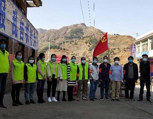 助力疫情防控 宣威双河乡志愿者在行动