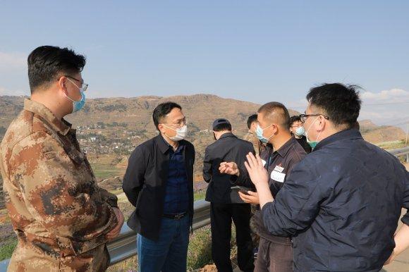 宣威市委常委、副市长陈勇到杨柳镇