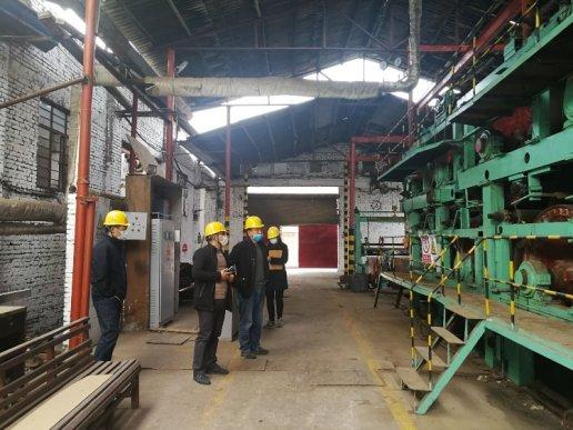 宣威板桥:强化特种设备监管 助力企业复工复产