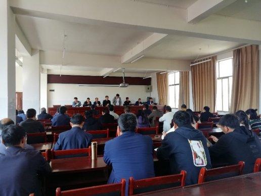 杨柳镇中心学校坚持找问题补短板抗疫情
