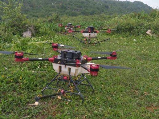 宣威双河乡:植保无人机助力马铃薯