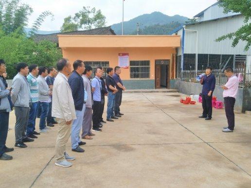 宣威双河乡召开党支部规范化建设现