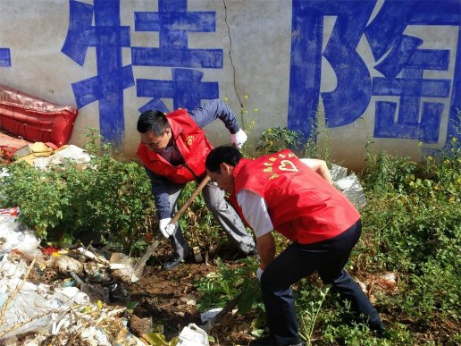 宣威市多个单位联动  助推爱国卫生运