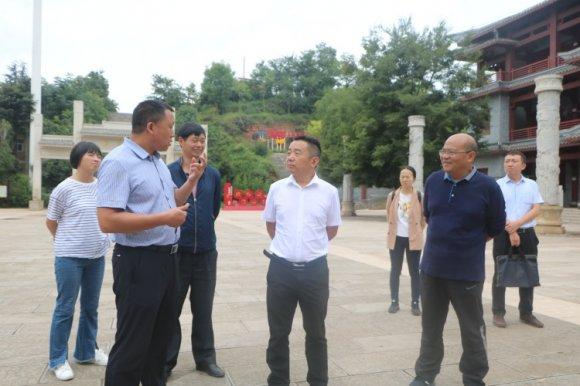 刘乔红到宣威市杨柳镇检查指导全国