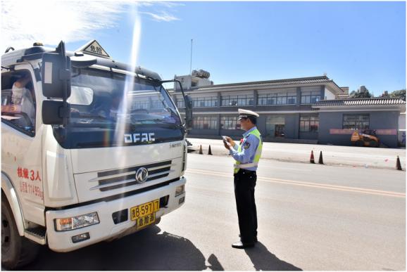 宣威市危化品运输车辆专项整治行动