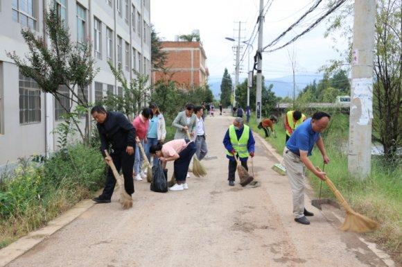 开展爱国卫生运动助力人居环境提升