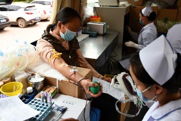 板桥街道组织开展义务献血活动