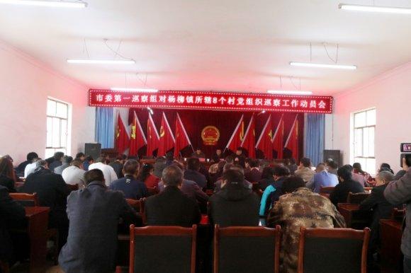 市委第一巡察组进驻杨柳镇杨柳村等