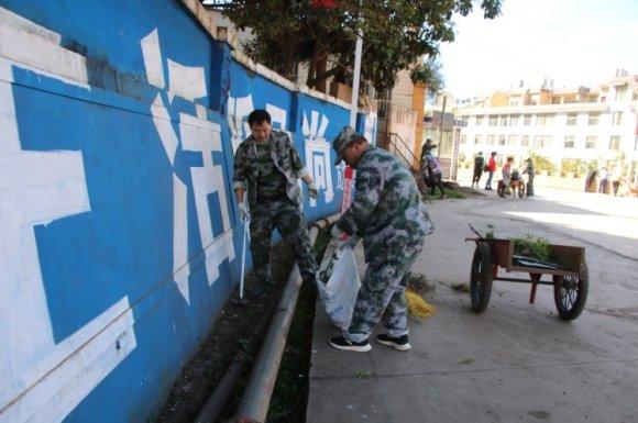 宣威龙潭镇:领导干部带头开展以清