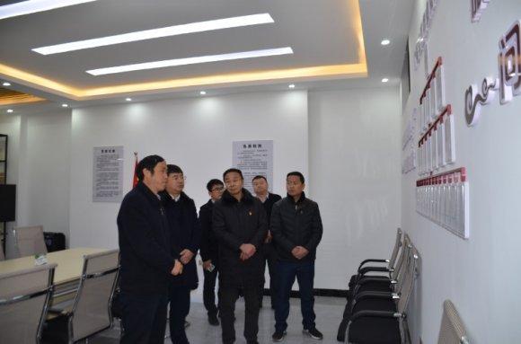 刘清到宛水街道调研指导基层党建工