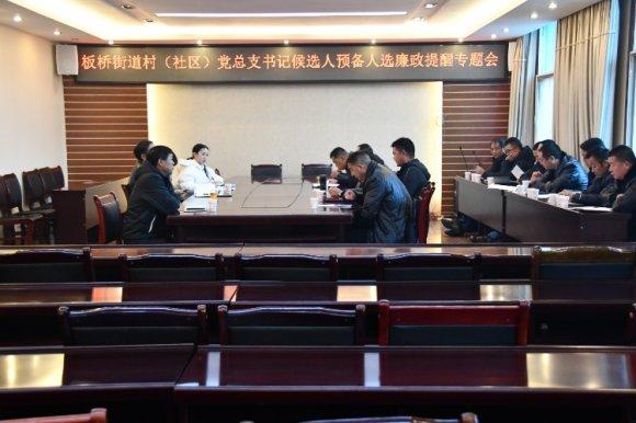 宣威:板桥街道开展村(社区)党总
