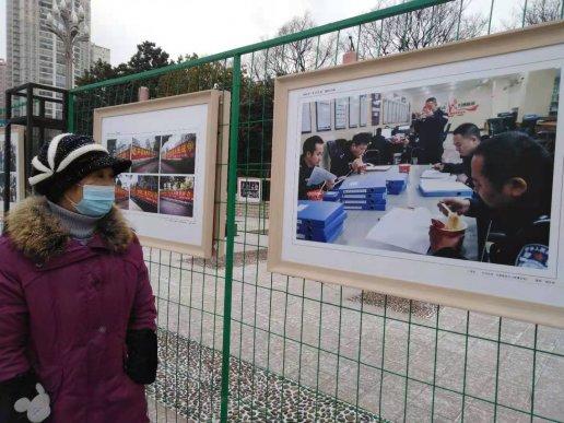 """宣威市举办""""平安宣威""""摄影书法展"""