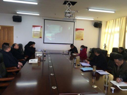 宣威经开区机关党支部观看警示教育