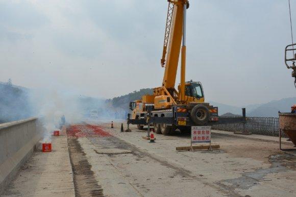 杨宣高速公路项目下部结构顺利完工