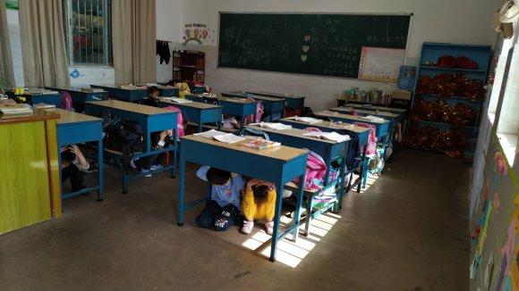 宣威市虹桥街道马房小学开展安全日教育活动