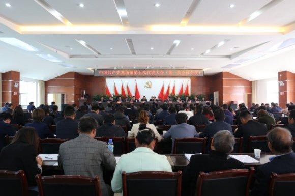 中国共产党龙场镇第五次党员代表大