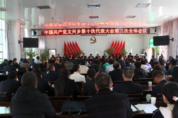 中国共产党文兴乡第十次代表大会胜