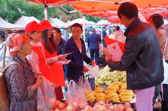 双河乡:党建引领开展爱国卫生运动