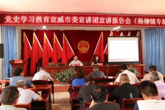 党史学习教育宣威市委宣讲团到杨柳
