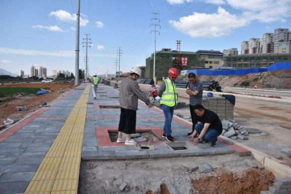 宣威市建屏路(中烟大道)道路建设