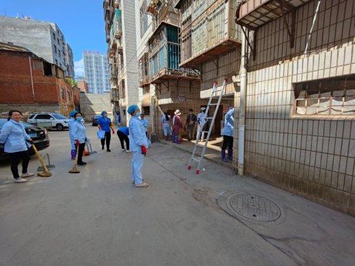 宛水街道宛水社区:创文创卫抓提升 联动治理见成效