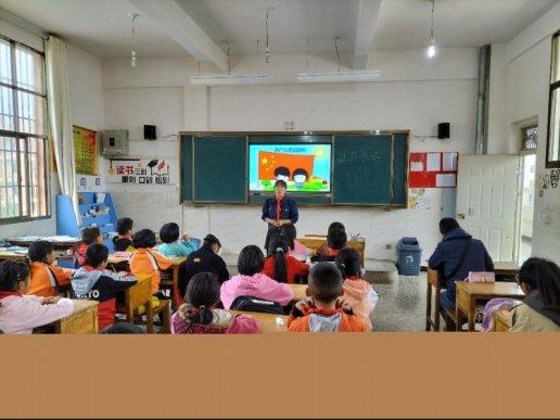 宣威市师德师风王江波名师工作室到普立乡开展送教