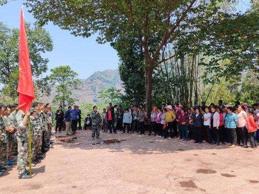 宣威双河乡开展地质灾害应急演练活动