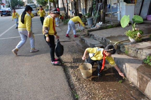 宣威市羊场镇:全民行动掀起人居环