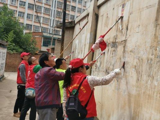 党员志愿服务,为辖区居民办实事