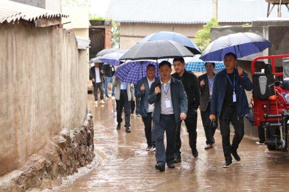 杨柳镇人大主席团专项视察人居环境