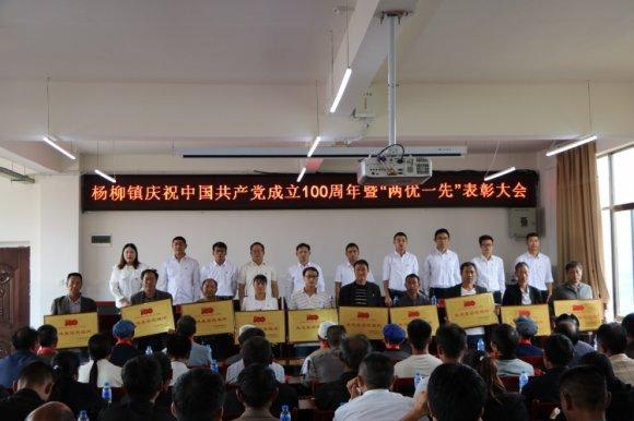 杨柳镇举行庆祝中国共产党成立100周