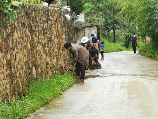 宣威市格宜镇开展农村人居环境整治