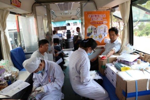 宣威市龙场镇:无偿献血 传递温暖