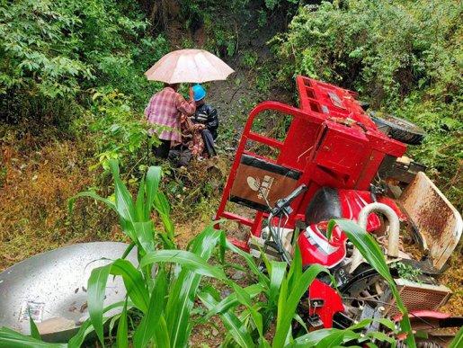 路遇险情,5名供电员工合力救助受伤