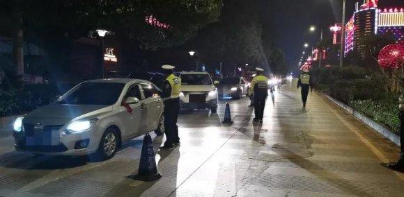 宣威市公安局交警大队开展集中清查