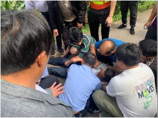 群众交通事故受伤 民警及时救助获赞