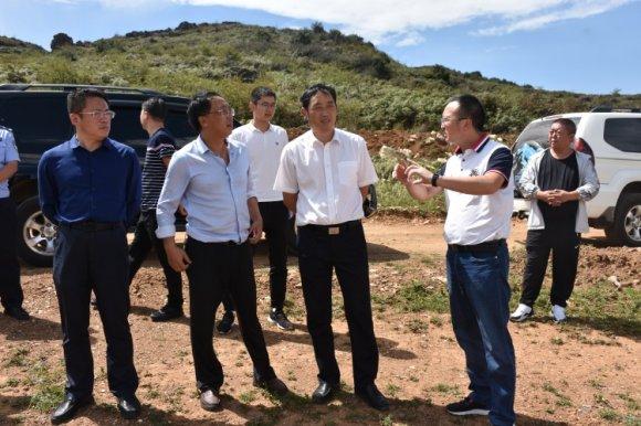 刘清到宣威市羊场镇调研重点项目建