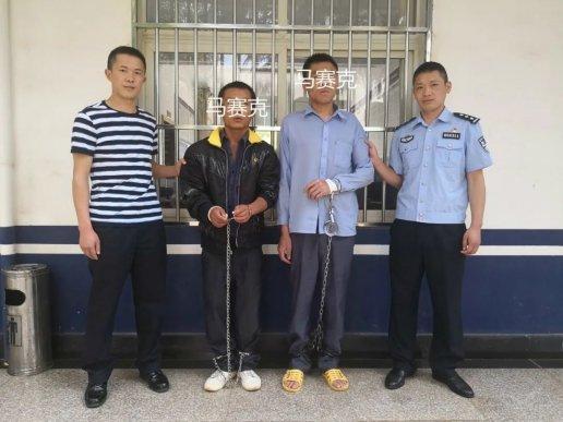 在宣威城区多次盗窃的两男子被抓咯