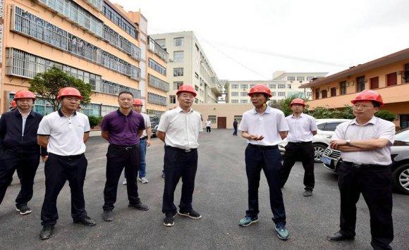 朱党柱调研城市规划建设管理工作