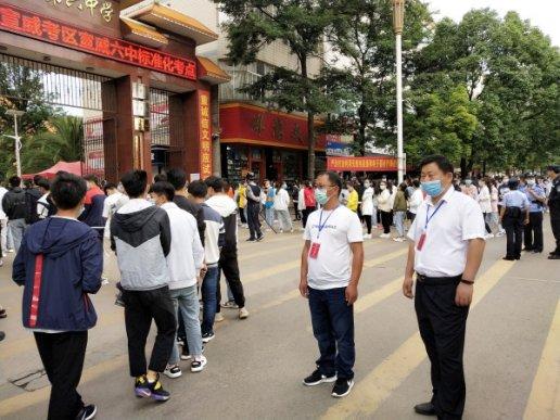 宣威:全方位跟进监督 助力平安高考