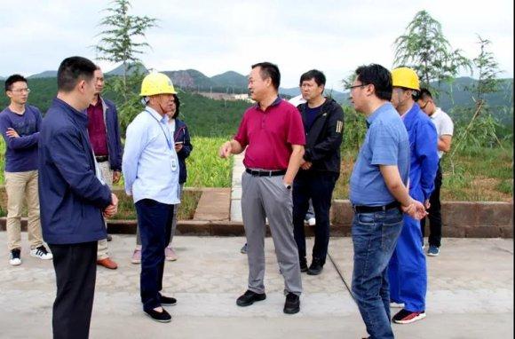 省工信厅调研组到宣威磷电公司调研