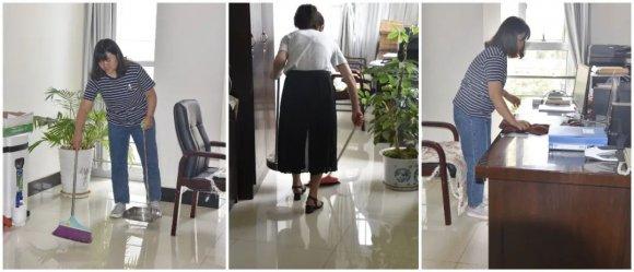 宣威市人民检察院积极开展爱国卫生