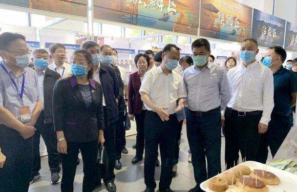 宣威64个农特产品亮相上海市宝山区对