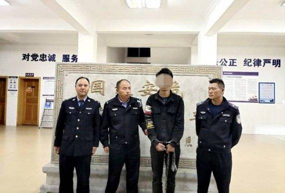 宣威一男子入室盗窃被当场抓获