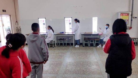 宣威市疾病预防控制中心为1800余名儿