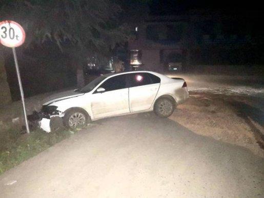 宣威一男子酒后驾车单方肇事 报警理